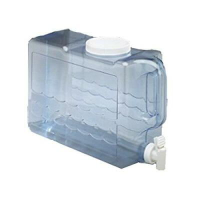 Water Jug 2.5 Gallon Container Plastic Bottle Beverage Dispenser Clear NEW ](Clear Plastic Water Bottles)