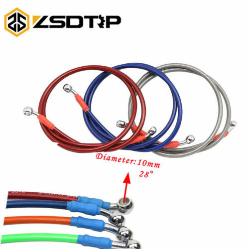 Motorcycle Bike Braided Brake Clutch Oil Hose Line Pipe Tube Cable   *