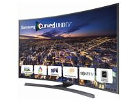 Samsung Curved 48 Inch 4K Ultra HD 3D Smart TV in Very Good Condition