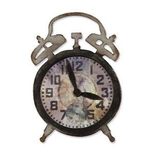 Sizzix Bigz Die - Tick-Tock (Clock) by Tim Holtz - $20