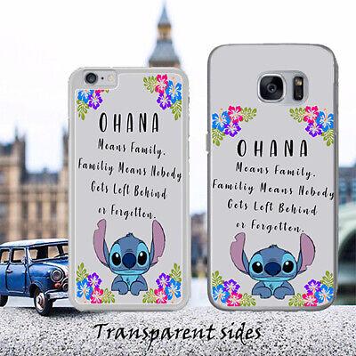 Disney Lilo Stitch Ohana Family Quote Phone Case - Ohana Cover