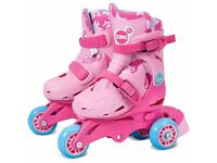 Zinc Tri-Skates Size 9-12 in Pink