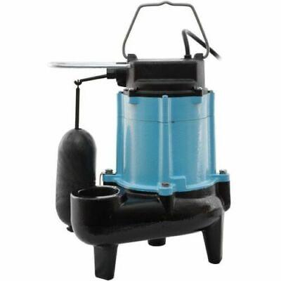 Little Giant 10sn-cia-sfs - 12 Hp Cast Iron Sewage Pump 2 W Vertical Float