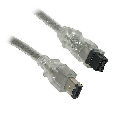 Firewire 800 to 400 9 Pin to 6 Pin Cable Lead IEEE1394B...