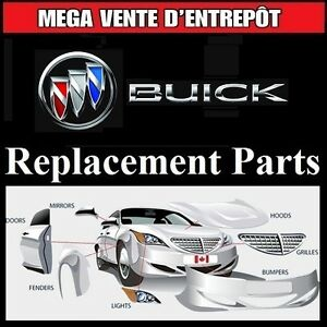 Buick Rendezvous ► Fenders and Bumpers • Ailes et Pare-chocs