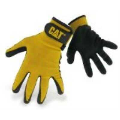 Catglovesrainwearbossmfgcat017416l Large Yellow Foam Cell Nitrile Coated Gloves