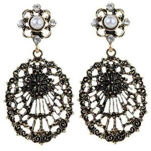 Antique Br Earrings