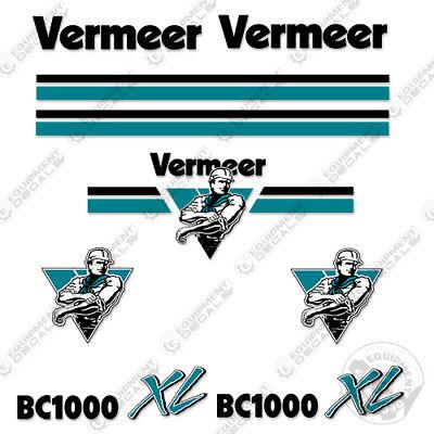 VERMEER BC1000XL AIR FILTER SET  INNER /& OUTER 155030001  155031001 cummins 3.3T