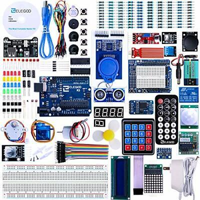 ELEGOO UNO R3 Project Most Complete Starter Kit w/Tutorial Compatible with Ar...