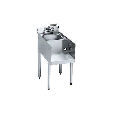 Krowne Metal Standard 2100 Series 18w Underbar Blenderdump Sink Station
