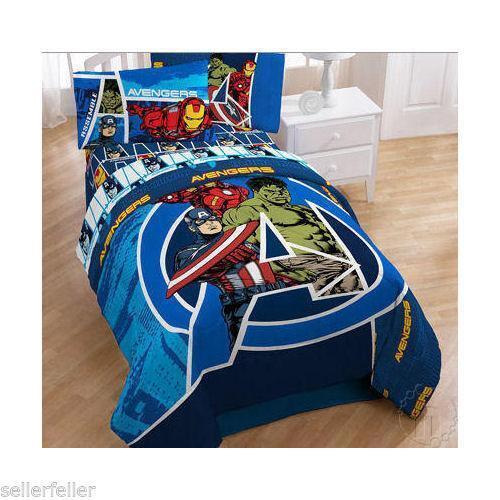 Avengers Queen Size Bed Set