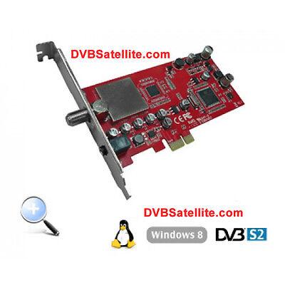 Tevii 472 DVB-S2 Satellite PC Card