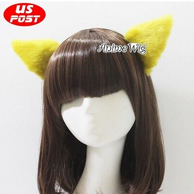 Halloween Cosplay Lolita Cute Cat Fox Ears Multi-Color Party Hair Accessories