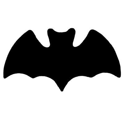 Bat  Cutouts Plastic Shapes Confetti Die Cut 15 pcs  FREE - Bat Cutouts