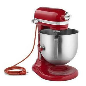 KitchenAid Commercial 8-Qt Bowl Lift NSF Stand Mixer RR-KSM8990 5 Colors