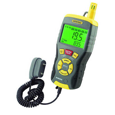 General Tools Rhmg650 Invasivenon Invasive Moisture Meter Wtemp