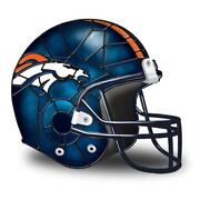 Denver Broncos Lamp