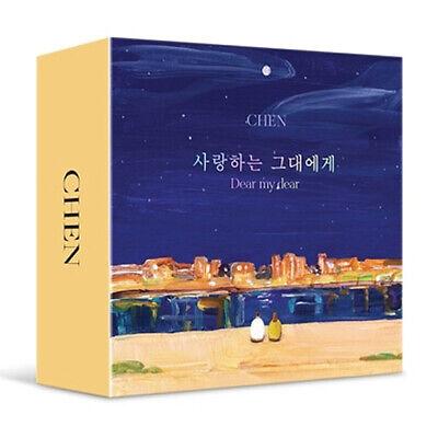 EXO CHEN [DEAR MY DEAR] 2nd Mini Kit Album Air-Kit+Photo Book+Card K-POP SEALED