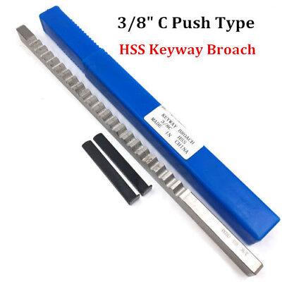 Keyway Broach 38 Inch Size C Push Type Hss Cnc Involute Spline Cutting Tool