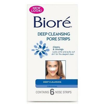 ツ BEST PRICE! BIORE DEEP CLEANSING PORE STRIPS ORIGINAL 6 NOSE STRIPS (Best Nose Pore Strips)