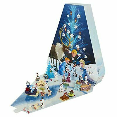 DISNEY FROZEN Cute Holliday Decor Olaf's Adventure Advent Calendar w/ 25 Figures