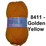 Yellow Double Knitting Wool