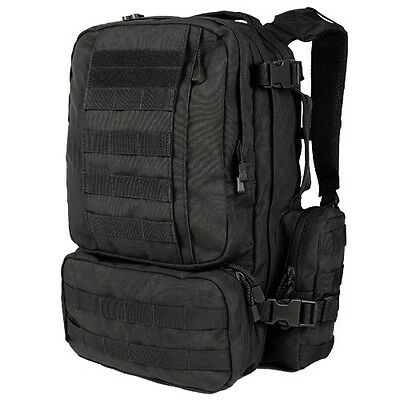 Condor 169 BLACK Convoy Outdoor Pack MOLLE Modular Backpack Bail Bug Out Bag