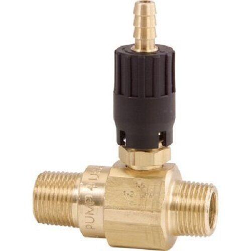 """General Pump Pressure Washer Detergent Injector 3/8"""" NPT-M - #100813 - 2.3mm"""