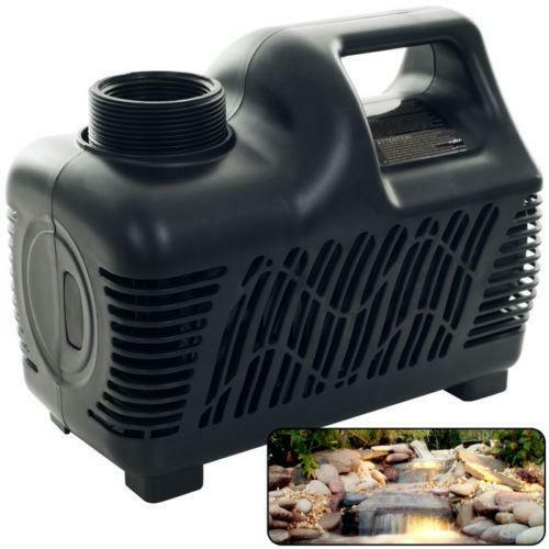 Beckett waterfall pump water features ebay for Yard pond pumps
