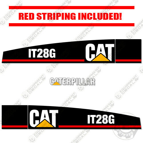 Caterpillar IT28G Wheel Loader Decal Kit Equipment Decals (2003 and Older)