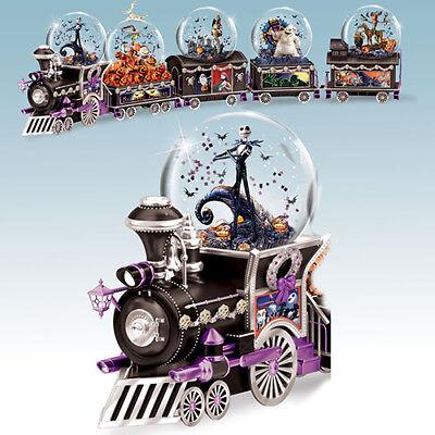 TIM BURTON Nightmare Before Christmas TRAIN ALL ABOARD FOR HALLOWEEN NEW