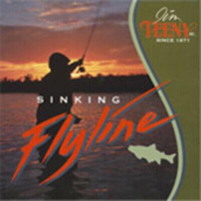 Jim TEENY TS-T Long Distance Sinking Fliegenschnur UVP 89,90€ WF Fly Line