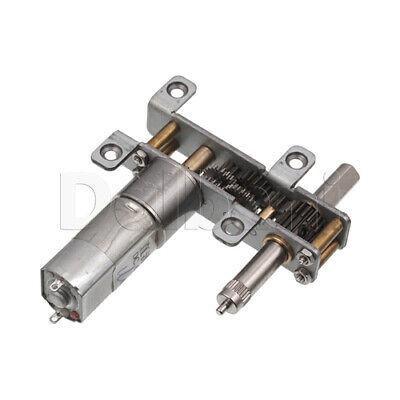 Dc Gear Motor High Torque 13gb 12v 6rpm External For Diy Robotics Arduino