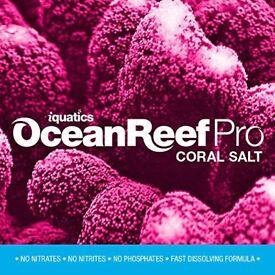 Marine aquarium salt