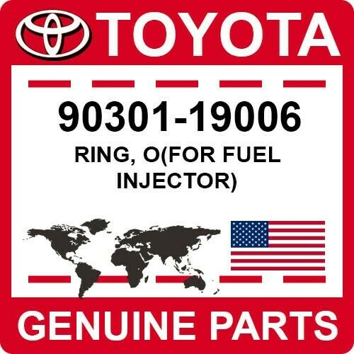 90301-19006 Toyota Oem Genuine Ring, O(for Fuel Injector)