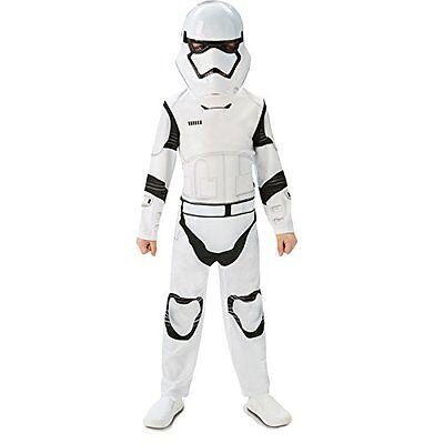 Star Wars Kostüm Storm Trooper für Kinder Größe 7-8 Jahre Karneval Party (Storm Trooper Kostüme Für Kinder)