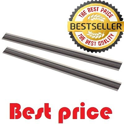 [BEST]  2 pieces 82mm REVERSIBLE PLANER BLADES/KNIVES FOR