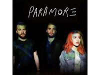 x2 Paramore tickets (seated)