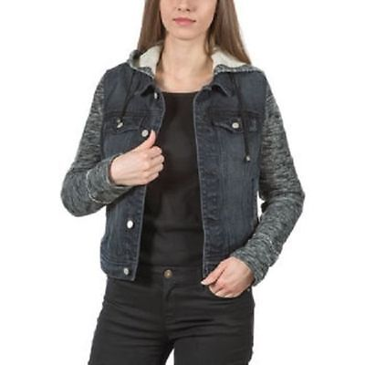 Black Denim Jacket Jean Jacket for women juniors