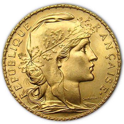 Купить 20 Francs France Gold Coin - Rooster (BU)