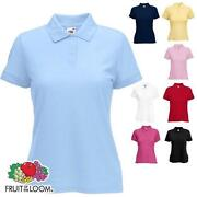 Fruit of The Loom Poloshirt Damen