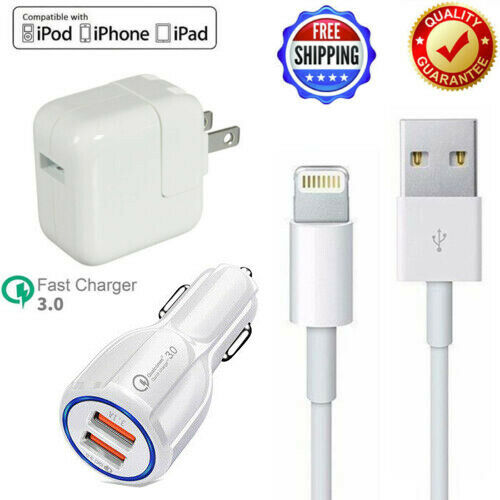 12W USB Wall Charger Power Adapter For iPad Mini 2 3 4 Air i