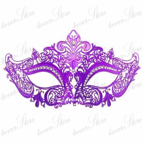 Purple Masquerade Mask Ebay