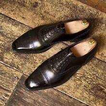 Hand Crafted Mens Leather Shoes Florey Belconnen Area Preview