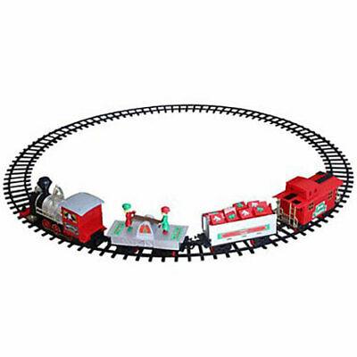 Blue Hat North Pole Junction Christmas Train Set -34 piece - Complete Set!