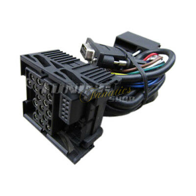 Cable Loom Yatour DMC MP3 Changer MT-06 for BMW 17 Pin 17pol (round Pins)