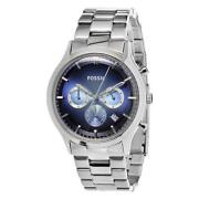 Blue Dial Fossil Watch