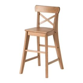 Child's dining chair from Ikea