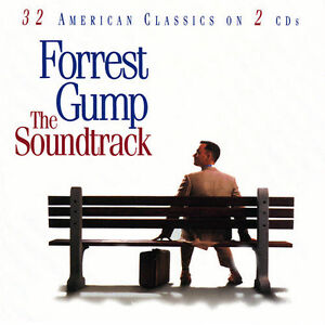 Forrest Gump 2 cd soundtrack-2 cds/mint condition