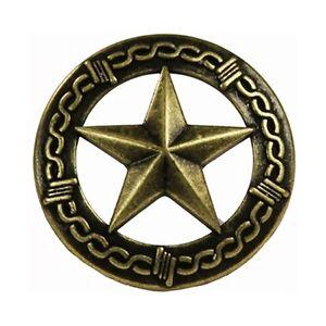 Western Decor Set Of 25 1 Brass Star Barbed Wire